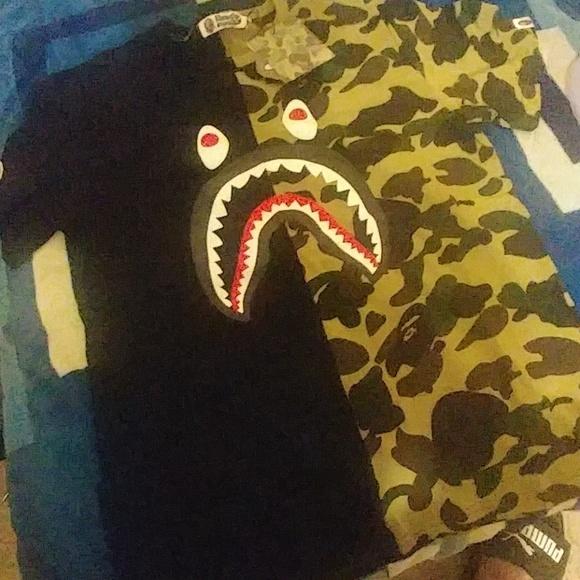 44abd4120 Bape Shirts | Tshirt | Poshmark